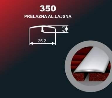 1007 Alu lajsna 350 SR