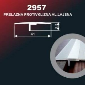 1008 Alu lajsna 2957 SR