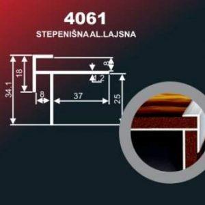 1013 Alu lajsna 4061 SR