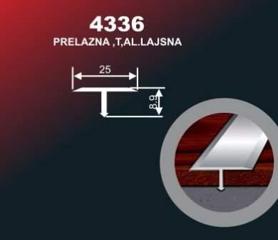 1015 Alu lajsna 4336 SR