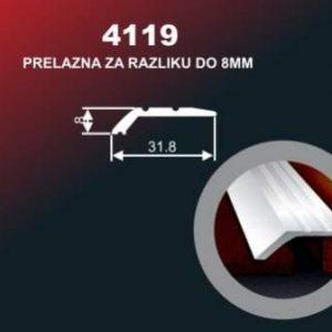 1019 Alu lajsna 4119 SR