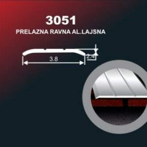 1025 Alu lajsna 3051 SR