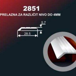1030 Alu lajsna 2851 SR