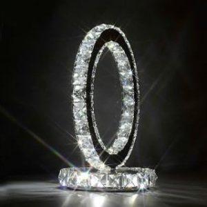 1067 Stona lampa MA-0112 kristal
