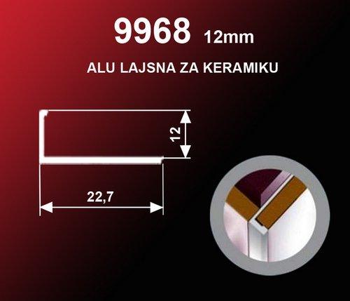 1591 Alu lajsna 9968 Brušeni SR Sjaj