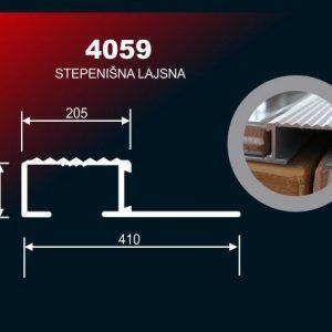 2131 Alu lajsna SR 4059 12mm 3m