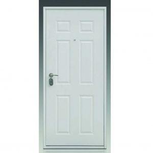 2191 Sigurnosna vrata 90x202 Bela Desna