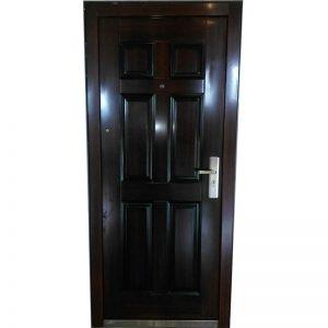 2205 Sigurnosna vrata 90x202 Braon Leva