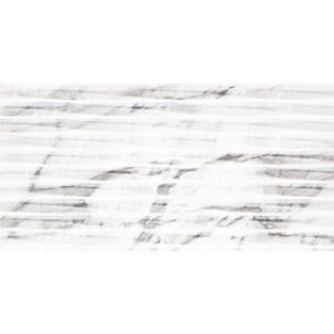 2505 Argenta Carrara Lined White Shine 30x602505 Argenta Carrara Lined White Shine 30x60