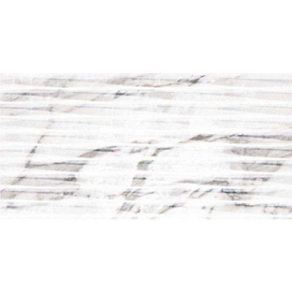 2505 Argenta Carrara Lined White Shine 30x602505 Argenta Carrara Lined White Shine 30x60