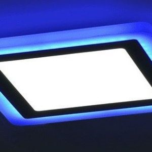 3265 Led panel 16W kvadrat Blue nadgradna