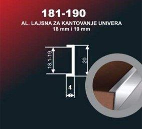 4201 Alu lajsna 190 SR