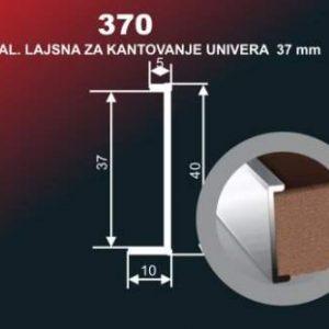Alu lajsna 370 SR