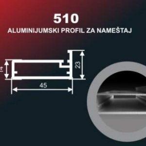 4208 Alu lajsna 510 SR