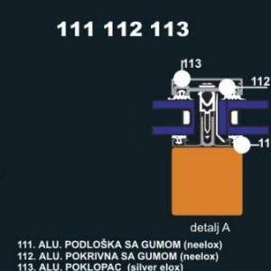 4211 Alu lajsna 113 SR 6 metara