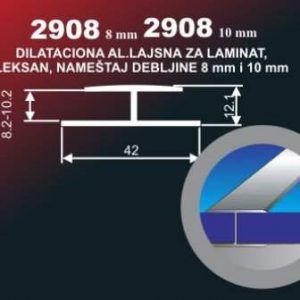 4217 Alu lajsna 2908-10 neelox. al. 6 metara