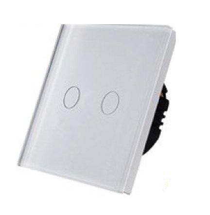 5147 Prekidač za svetlo Touch 2 kruga beli