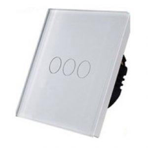 5150 Prekidač za svetlo Touch 3 kruga beli