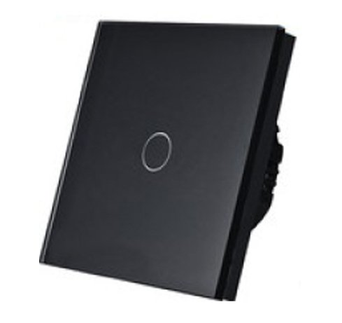 5154 Prekidač za svetlo Touch Potenciometar 1 krug crni