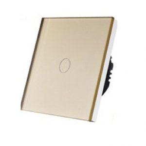 5155 Prekidač za svetlo Potenciometar Touch 1 krug zlatni