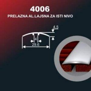 6445 Alu lajna 4006 SR Sjaj