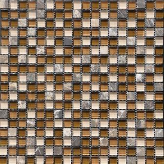6561 Staklo granit mozaik 0111/Brown