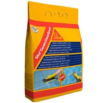 8118 SIKA CERAM CLEAN GROUT BROWN 5KG