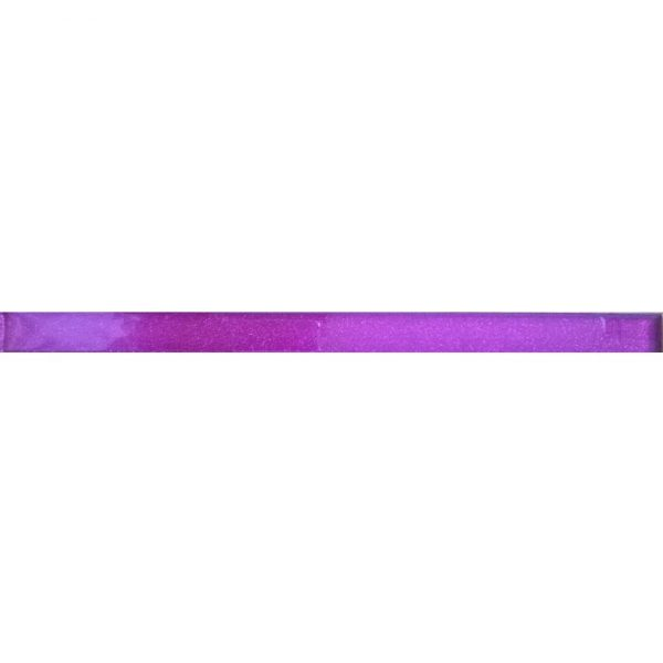8844 Staklena listela L03 Ljubičasta šljokice