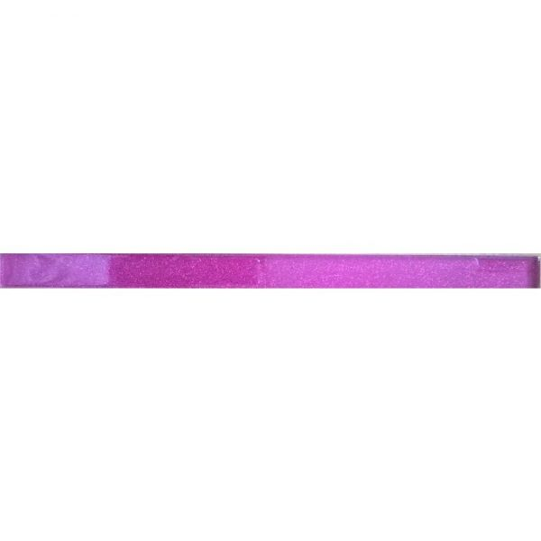 8846 Staklena listela L04 Pink šljokice