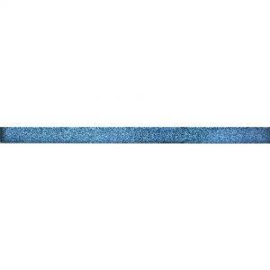 8849 Staklena listela L10 Crna šljokice V