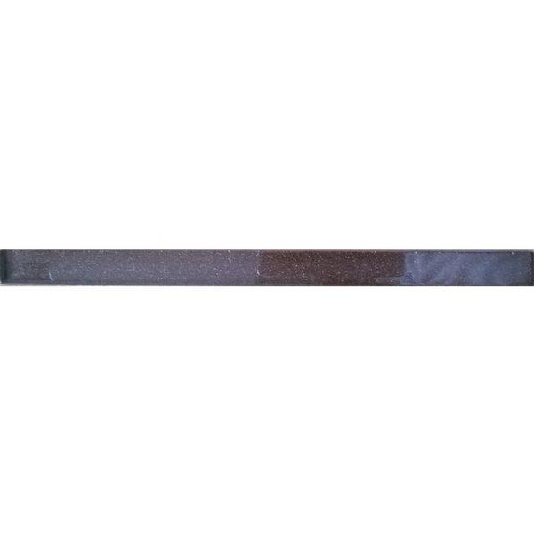 8850 Staklena listela L09 Tamno braon šljokice