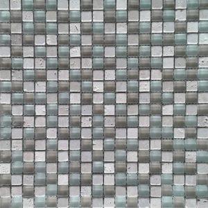 9129 Staklo travertin mozaik NO 002