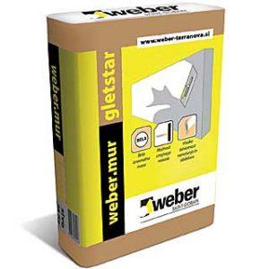 9398 WEBER MUR GLETSTAR 5/1 UNUTRASNJA PRASKASTA GLET MASA 2-4MM