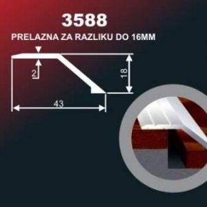 964 Alu lajsna 3588 ZL