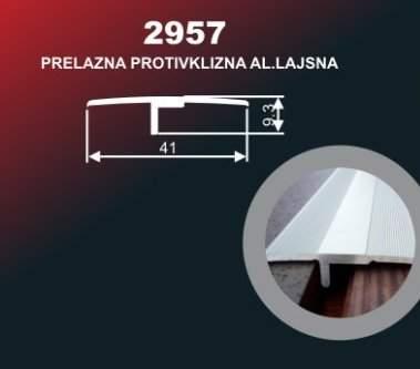 967 Alu lajsna 2957 ZL