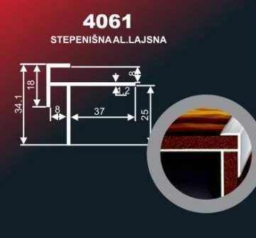 972 Alu lajsna 4061 ZL