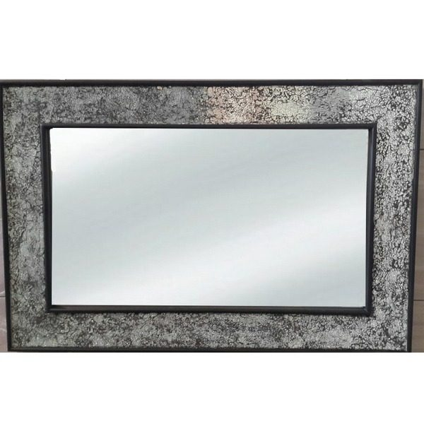 9874 Ogledalo mosaic Black 60x90 121 Flatmsc