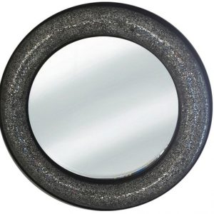 9879 Ogledalo mosaic Black R80 krug 1889