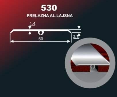 996 Alu lajsna 530 SR