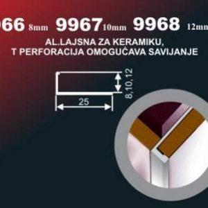 997 Alu lajsna 9966 SR