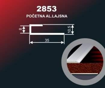 1004 Alu lajsna 2853 SR