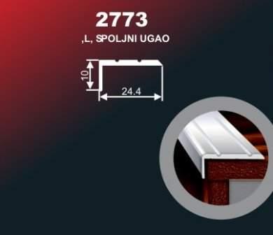 1010 Alu lajsna 2773 SR