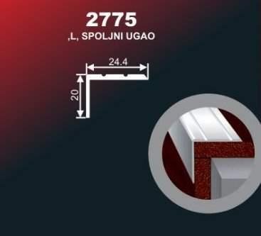 1011 Alu lajsna 2775 SR